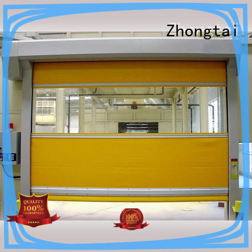 Zhongtai High-quality high speed door manufacturers for logistics center
