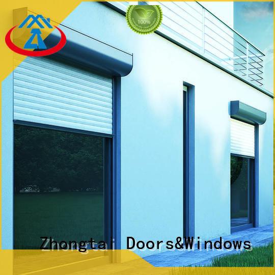 durable aluminum roller shutter finished Zhongtai company