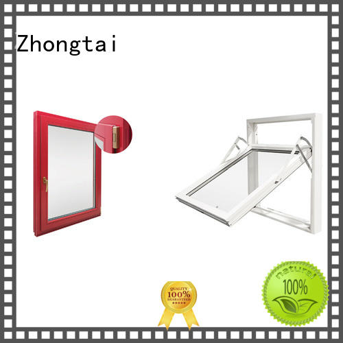 professional finished standard steel fire window Zhongtai