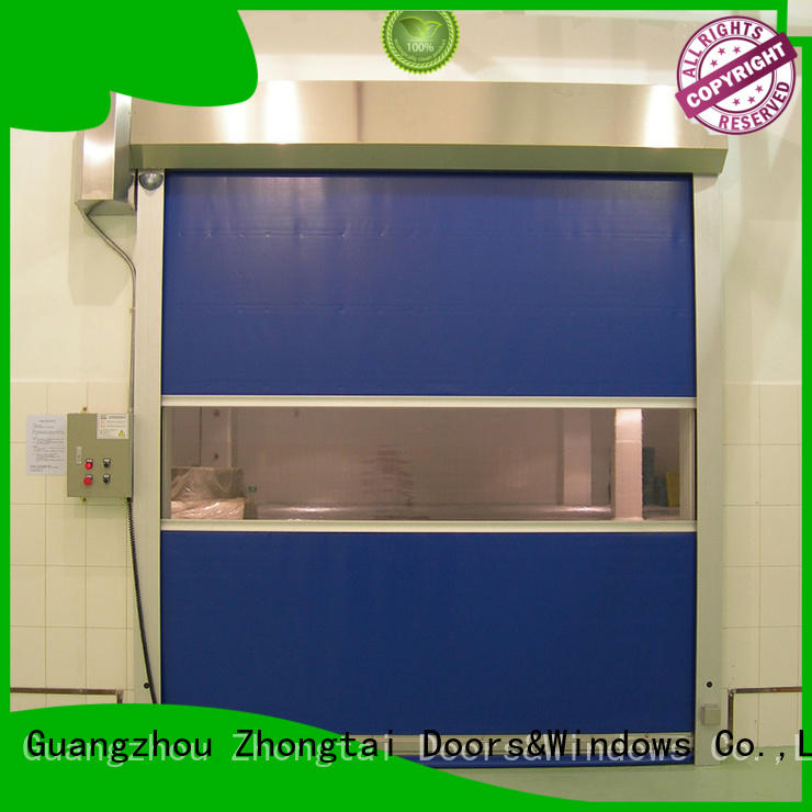 rolling roller automatic Zhongtai Brand speed door