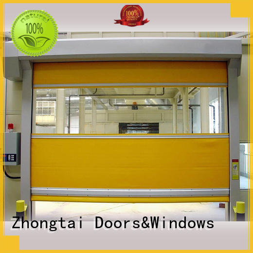 Zhongtai door speed door for sale for warehouse