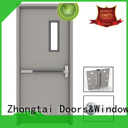 Zhongtai Wholesale fire resistant door suppliers for indoor