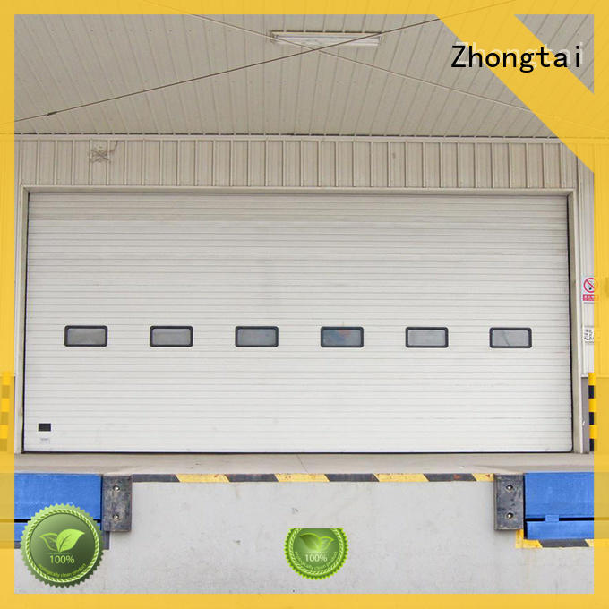 Zhongtai simple industrial roller shutter doors factory for large building