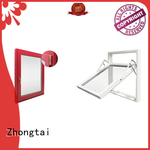durable steel professional fire rated windows cost Zhongtai Brand