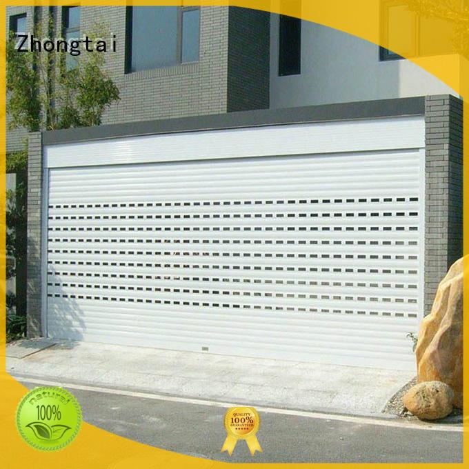 Zhongtai New metal shutters supply for garage