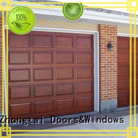 steel automatic single spectacular garage door retailers Zhongtai Brand