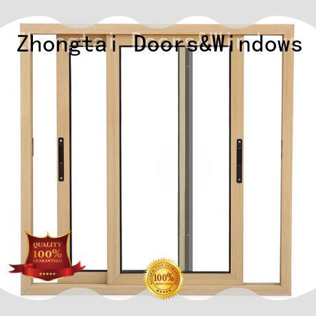 Custom aluminium window manufacturers sealing suppliers for villa