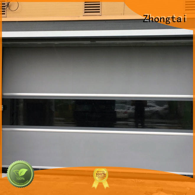 Zhongtai Wholesale high speed doors manufacturers for industrial zone