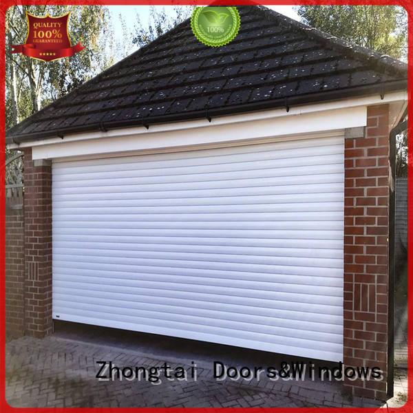 Zhongtai New aluminium shutters manufacturers for warehouse