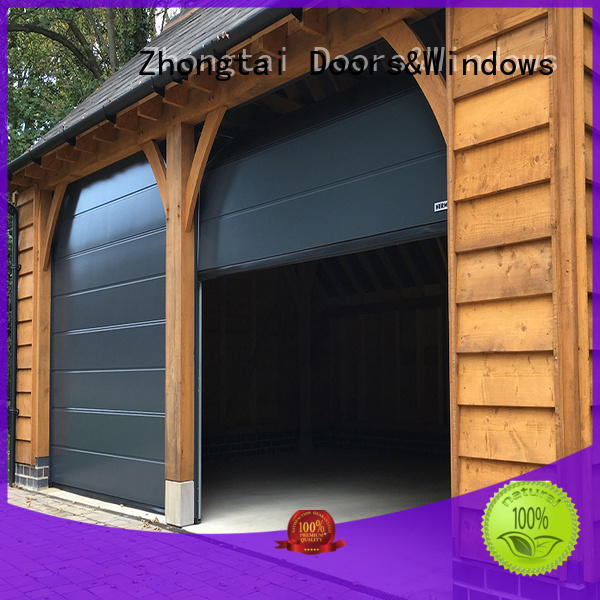 decor automatic Zhongtai Brand garage doors for sale
