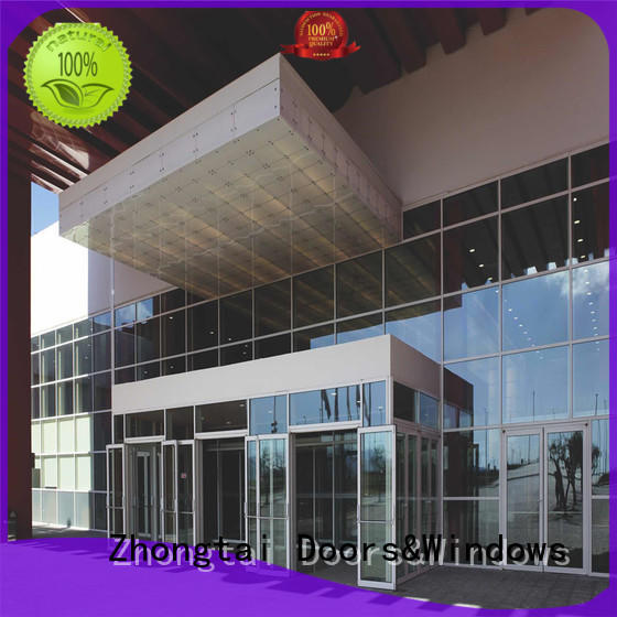 Best glass curtain aluminum for sale for buliding