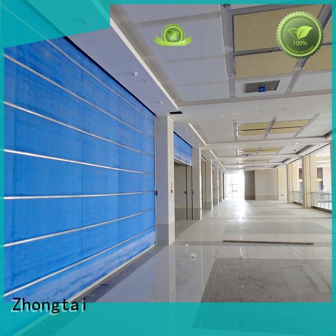 Zhongtai High-quality steel fire door company for materials market