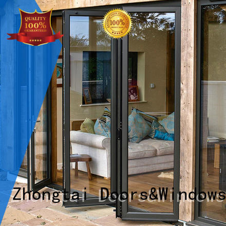 Zhongtai insulated aluminium door frame for sale for high-grade villas