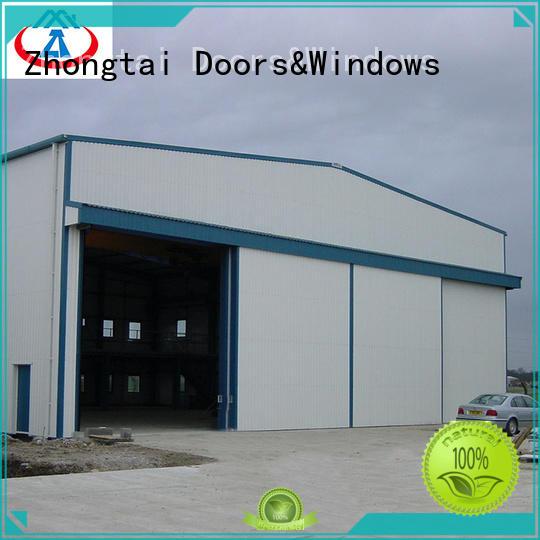 sale industrial sectional overhead door industrial for warehouse Zhongtai