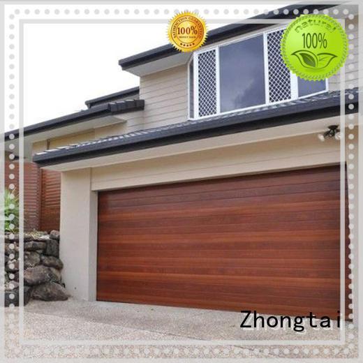 Zhongtai electric aluminum garage doors supplier for industrial plants