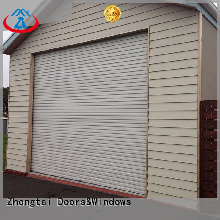 Zhongtai Wholesale aluminium shutters supply for warehouse