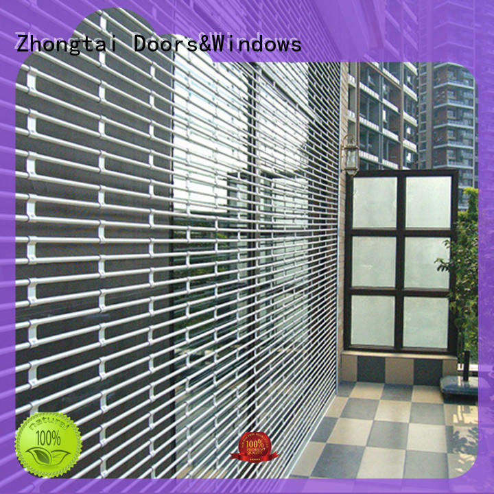 Zhongtai grills security grilles suppliers for shop