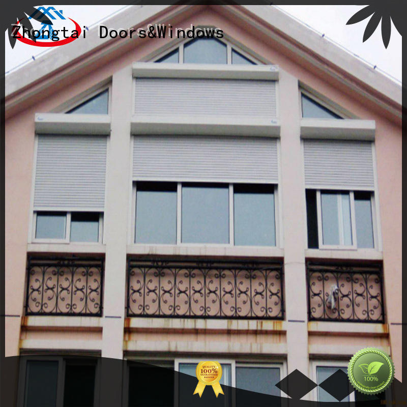 Zhongtai double best insulated garage doors wholesale for house