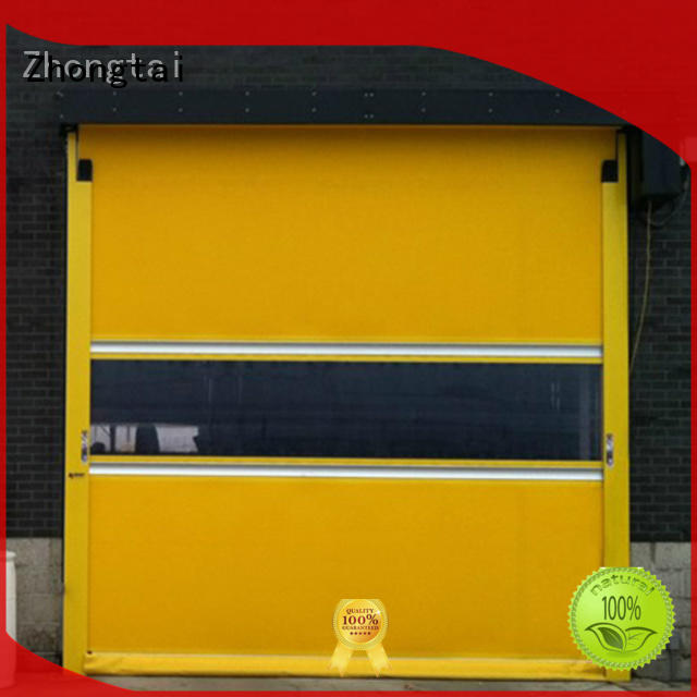 customized high speed doors electric factory for industrial zone