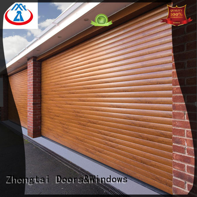 Zhongtai door aluminium shutters for business for garage
