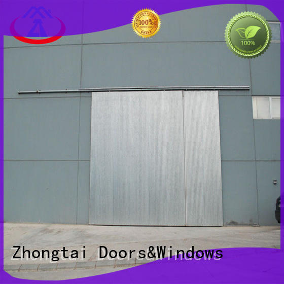 Zhongtai custiomized industrial roller doors for business for industrial zone