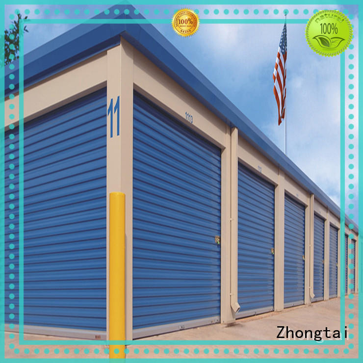 Zhongtai Latest steel roll up doors for business for garage