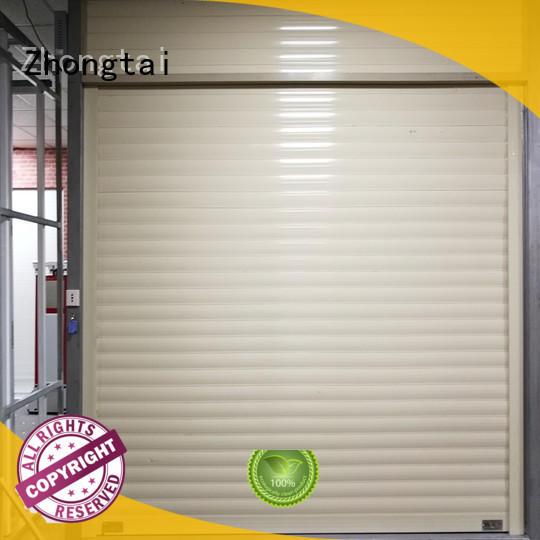 Zhongtai vertical aluminium shutters for business for garage