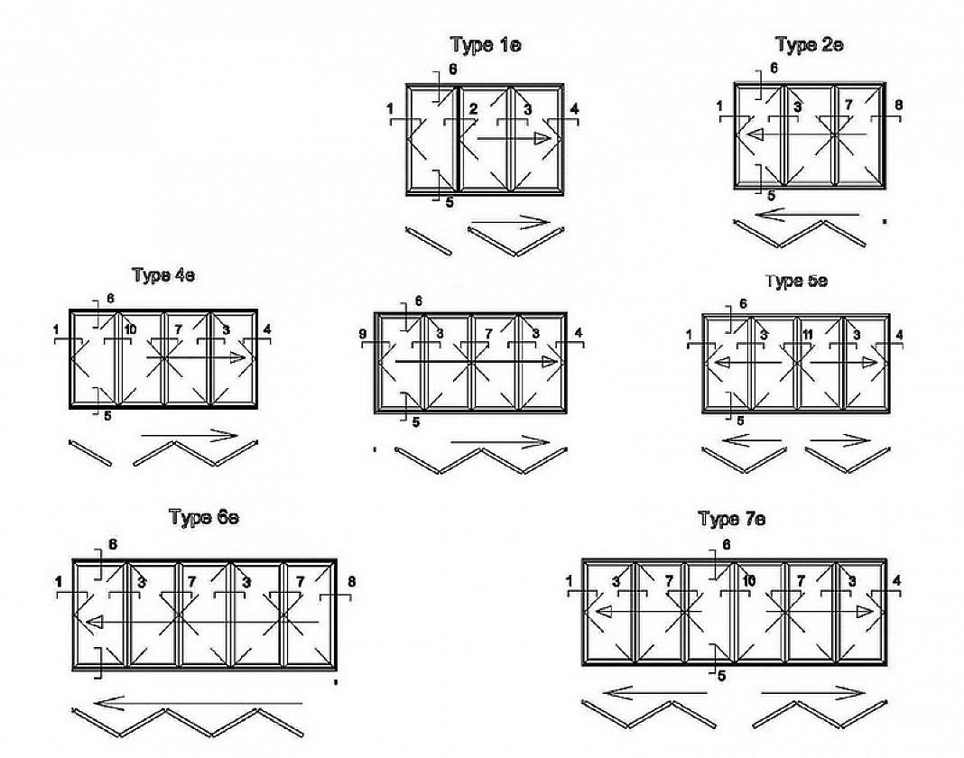 Zhongtai-High-quality Thermal Insulation High Quality Aluminum Bi-fold Door | Aluminium-1