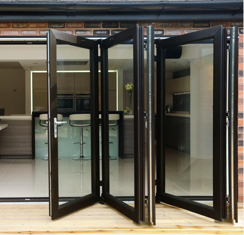 Zhongtai-High-quality Thermal Insulation High Quality Aluminum Bi-fold Door | Aluminium