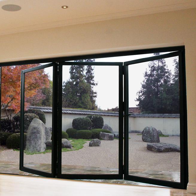 Zhongtai-High-quality Thermal Insulation High Quality Aluminum Bi-fold Door | Aluminium-3