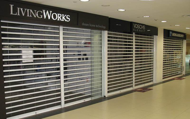 Zhongtai-Find Transparent Polycarbonate Roller Shutter Door For Shop   Manufacture