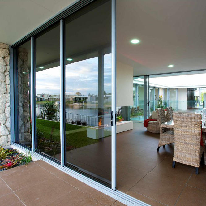High Quality and Beautiful Aluminium Sliding door