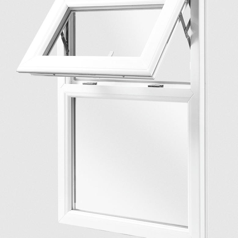 Thermal insulation Excellent Quality Double aluminum top hung window