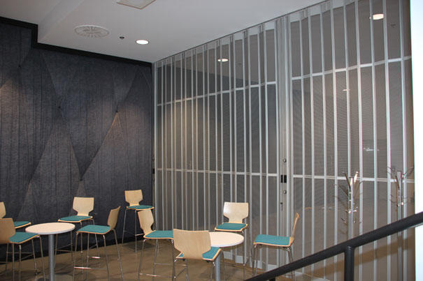 Crystal Polycarbonate Folding Door