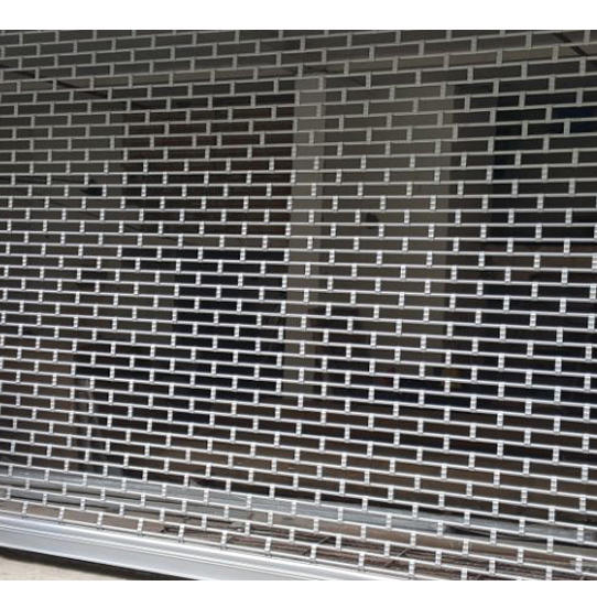 Security Stainless Steel  Grill Rolling door