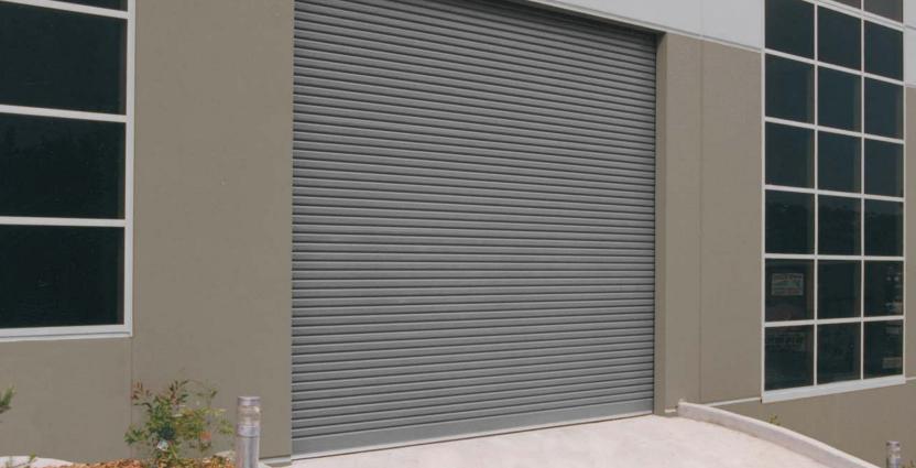 Electric Stainless Steel Rolling Door