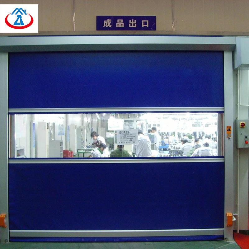 PVC High Speed Roller Shutter Door