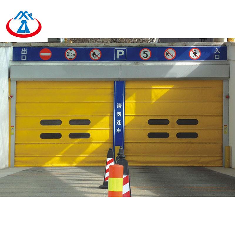 Zhongtai-Best Customized Colorful High Speed Rolling Shutter Door High Speed Door