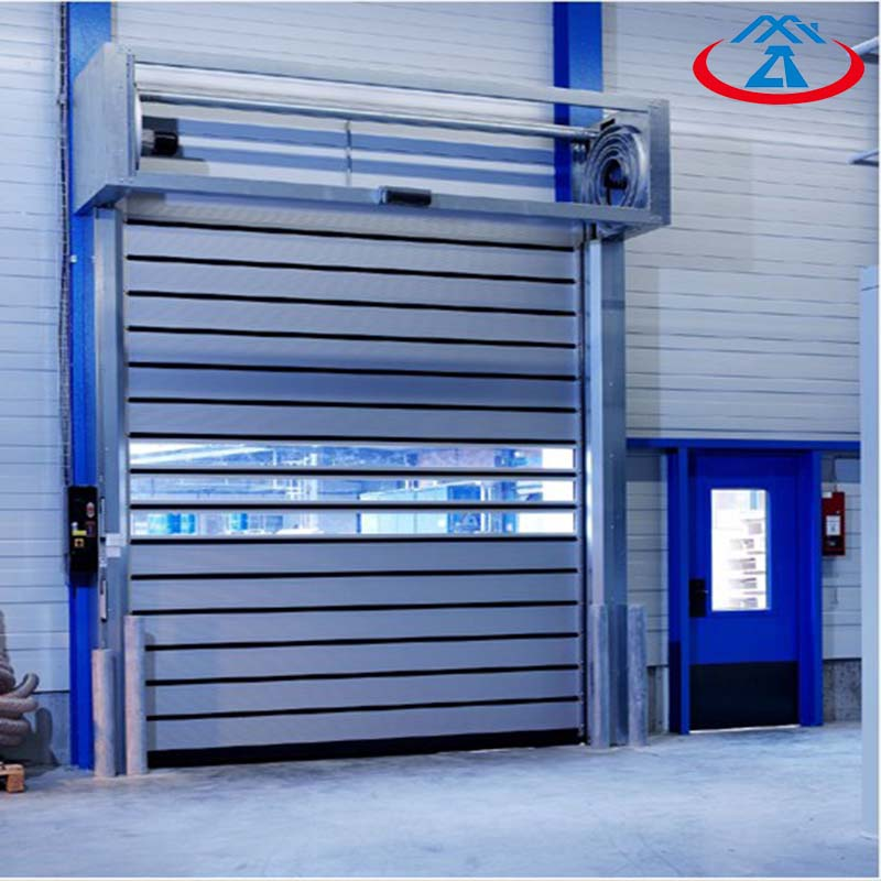 Zhongtai-Find High Quality Hard Metal High Speed Door   Manufacture