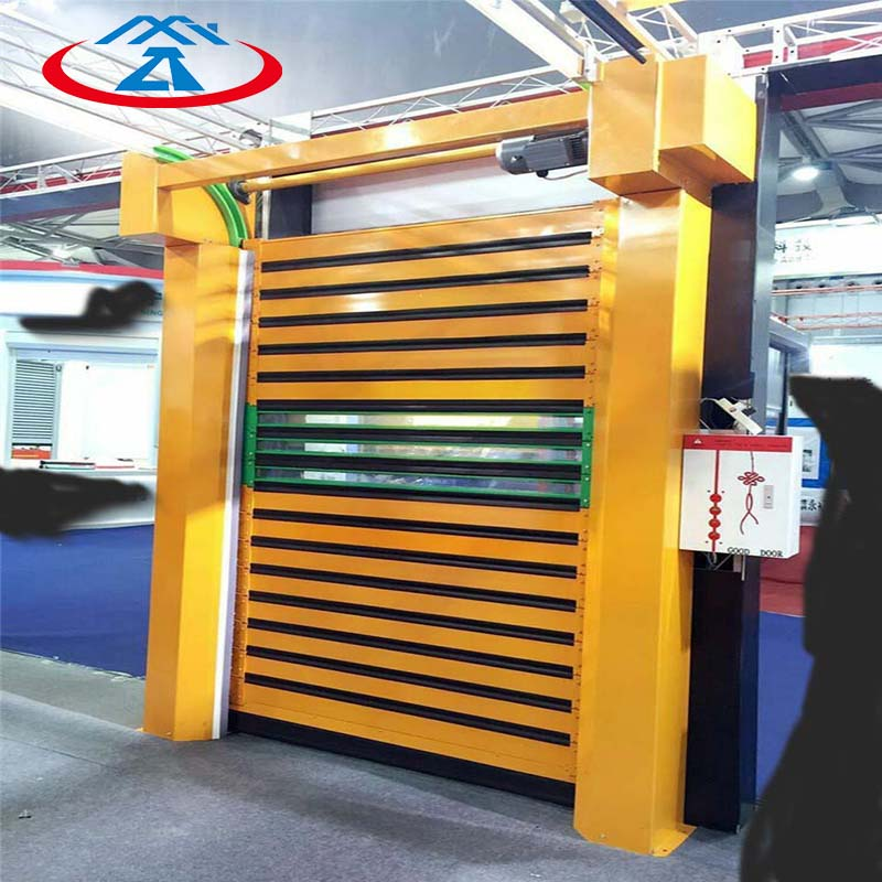 Zhongtai-High-quality Advanced And Imported Hard Metal Fast Door Factory