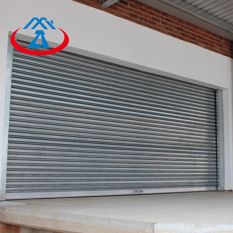 High Quality corrosion stainless steel shutter door