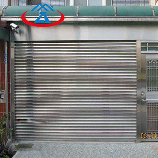 Practical Stainless Steel rolling shutter door