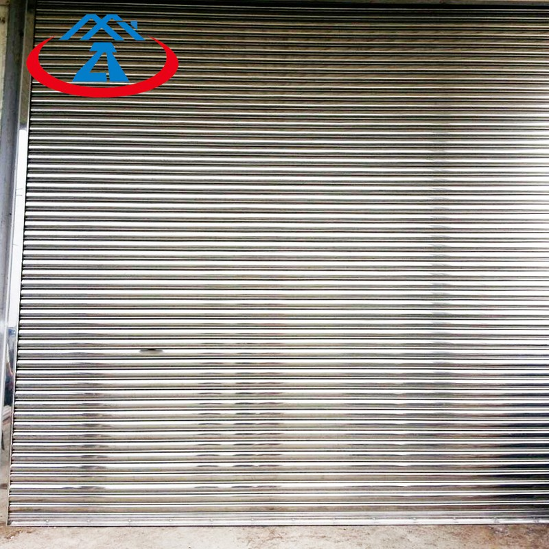 Zhongtai-High Quality Corrosion Stainless Steel Shutter Door | Commercial Steel