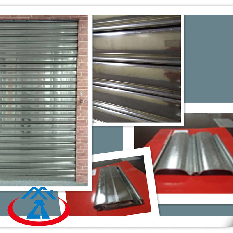 Zhongtai-Practical Stainless Steel Rolling Shutter Door | Steel Roll Up Doors Company-1