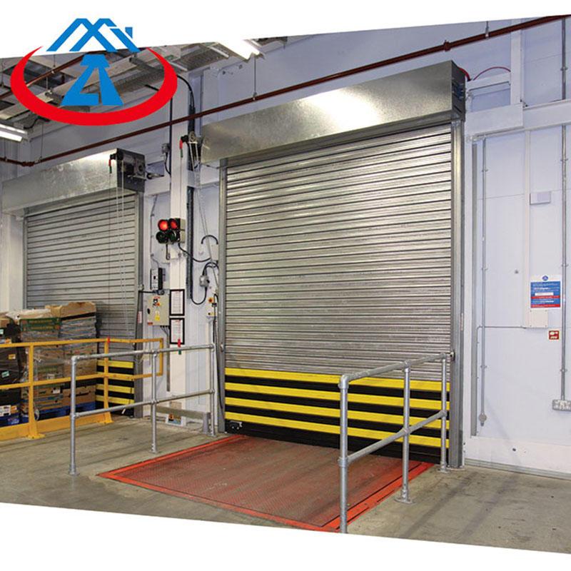 Composite Steel Fireproof Rolling Shutter Resistant Door