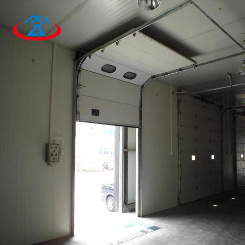 Industrial sectional vertical lifting door