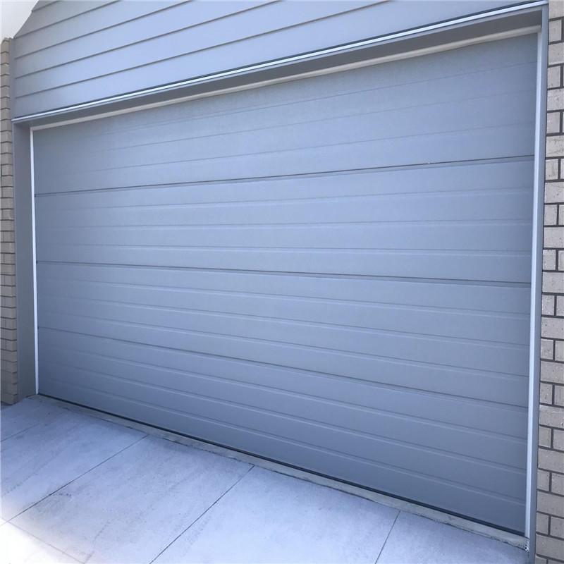 Exterior Position Aluminum Garage Door