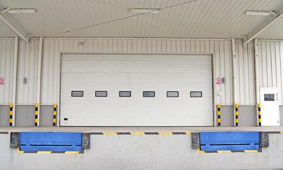 Zhongtai-Best Industrial Door Company Industial Sectional Overhead Lifting Door