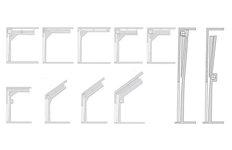 Zhongtai-Best Industrial Door Company Industial Sectional Overhead Lifting Door-4
