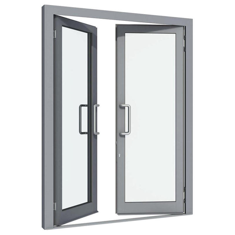 Double Layer Thermal Insulation Aluminum Swing Window